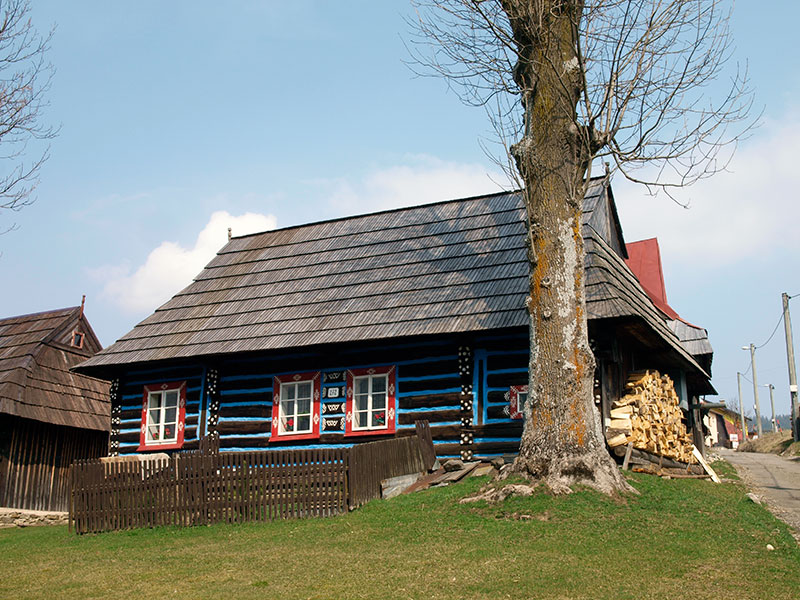 Goral architecture in the village of Zdiar (Slovakia)