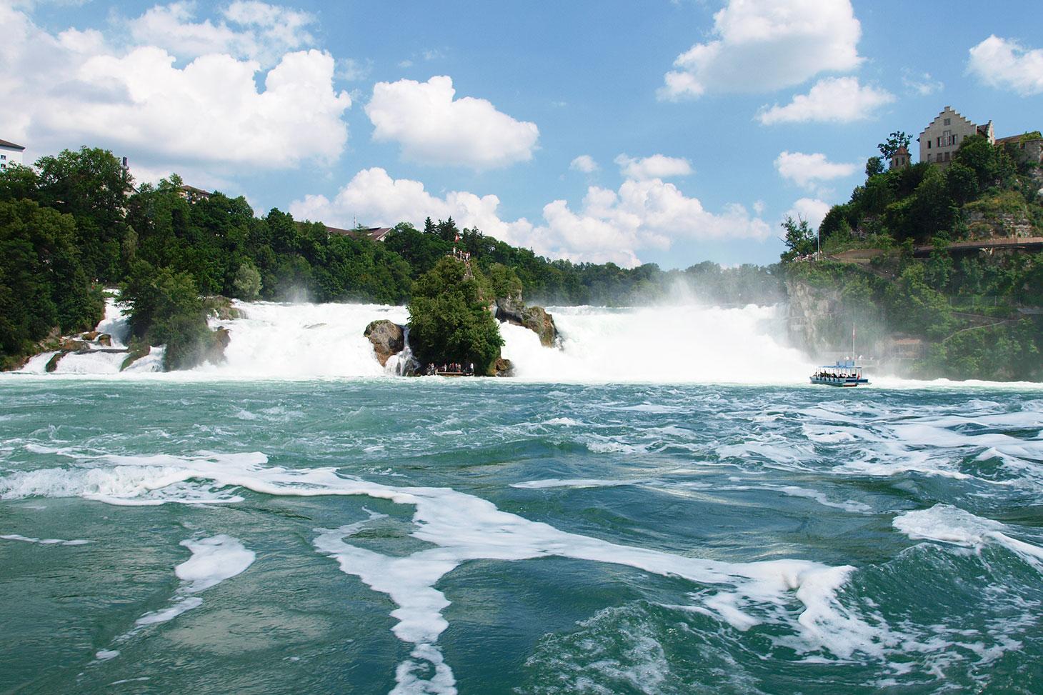 Kết quả hình ảnh cho rhine falls