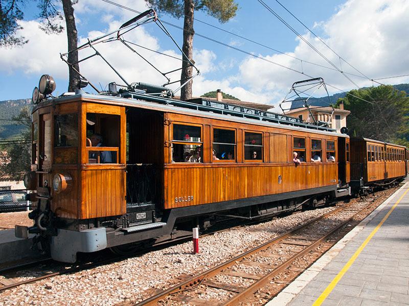 86 train soller - Ferrocarril de Sóller